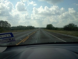Somewhere near Laredo