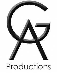 Logo for GA Productions, sound company 2014